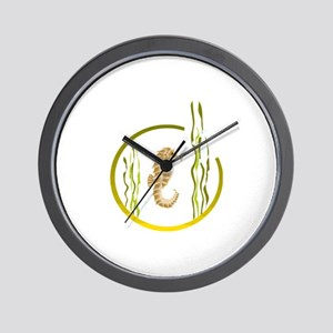 SEAHORSE [4] Wall Clock